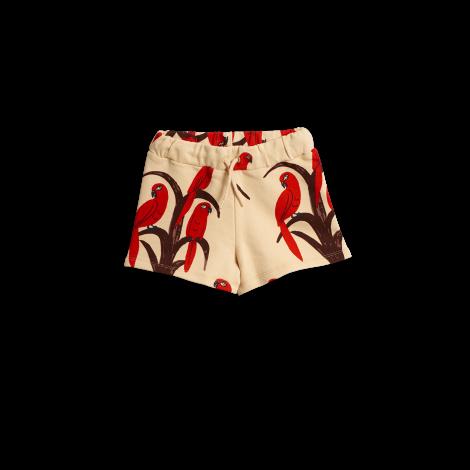 31befa1e9722 Mini Rodini Parrot Aop Shorts Red